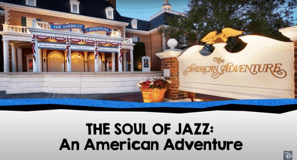 the soul of jazz walt disney world