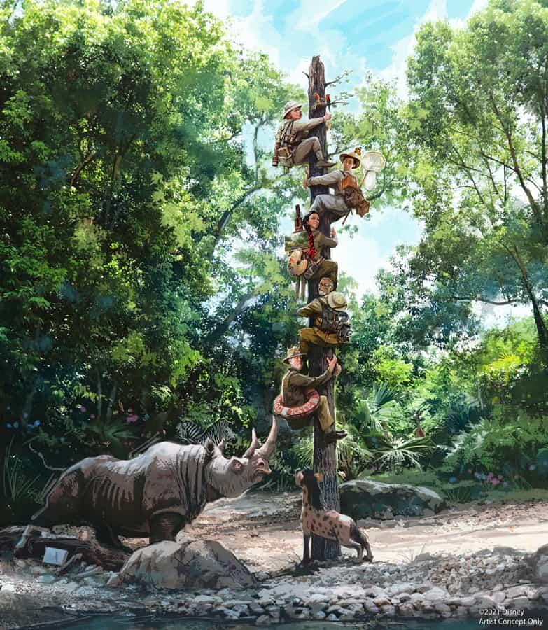 Jungle Cruise Update Walt Disney World and Disneyland 2