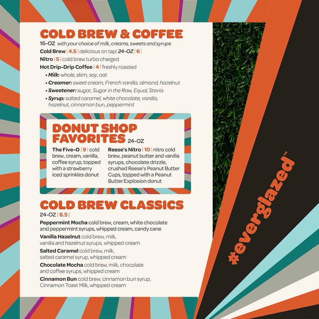 everglazed donuts menu disney springs 2