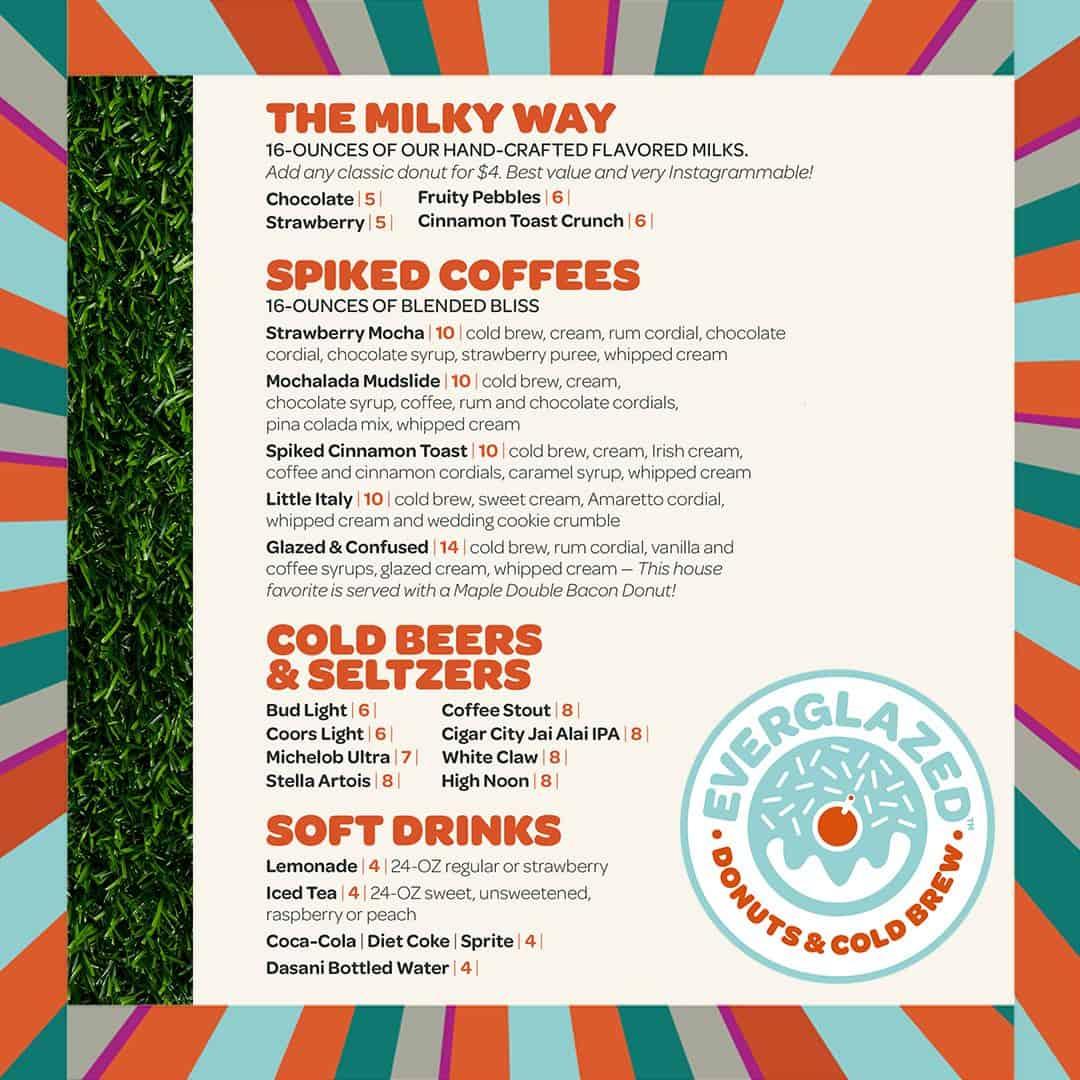 everglazed donuts menu disney springs 4