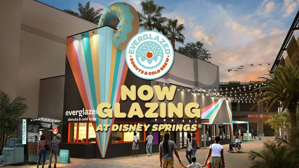 Everglazed donuts now open at disney springs