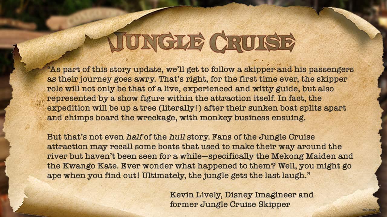 Jungle Cruise Update Walt Disney World and Disneyland 4