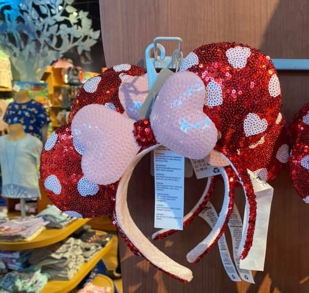 Valentines Day Mickey Ears 2021