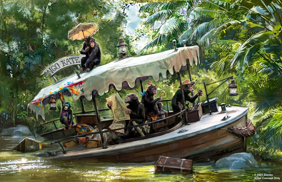 Jungle Cruise Update Walt Disney World and Disneyland 3
