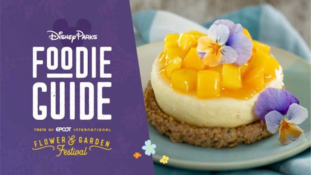 Taste of Epcot International Flower & Garden Festival Food Guide 2021