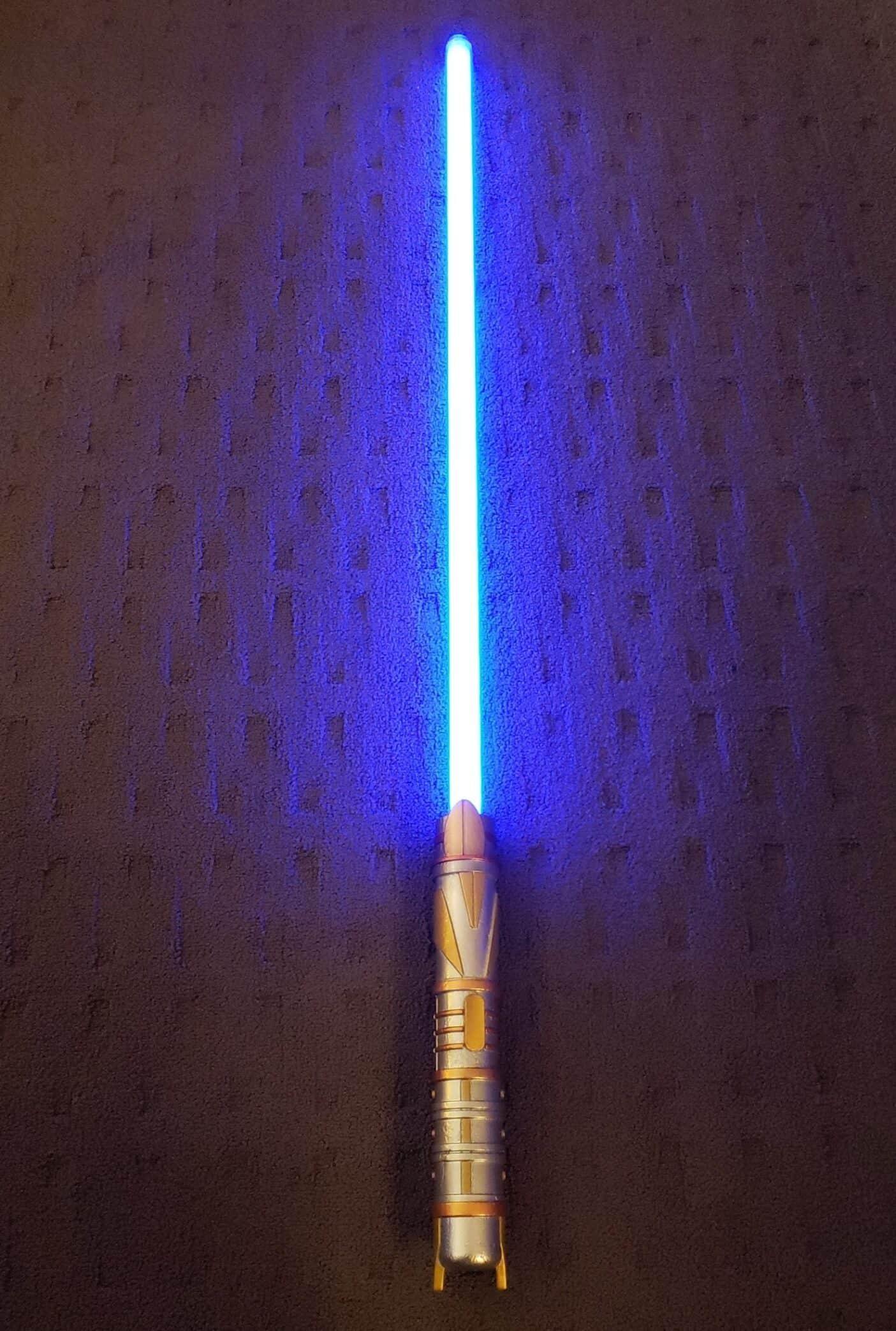 Savi's Workshop at Star Wars Galaxy's Edge Protection and Defense Lightsaber