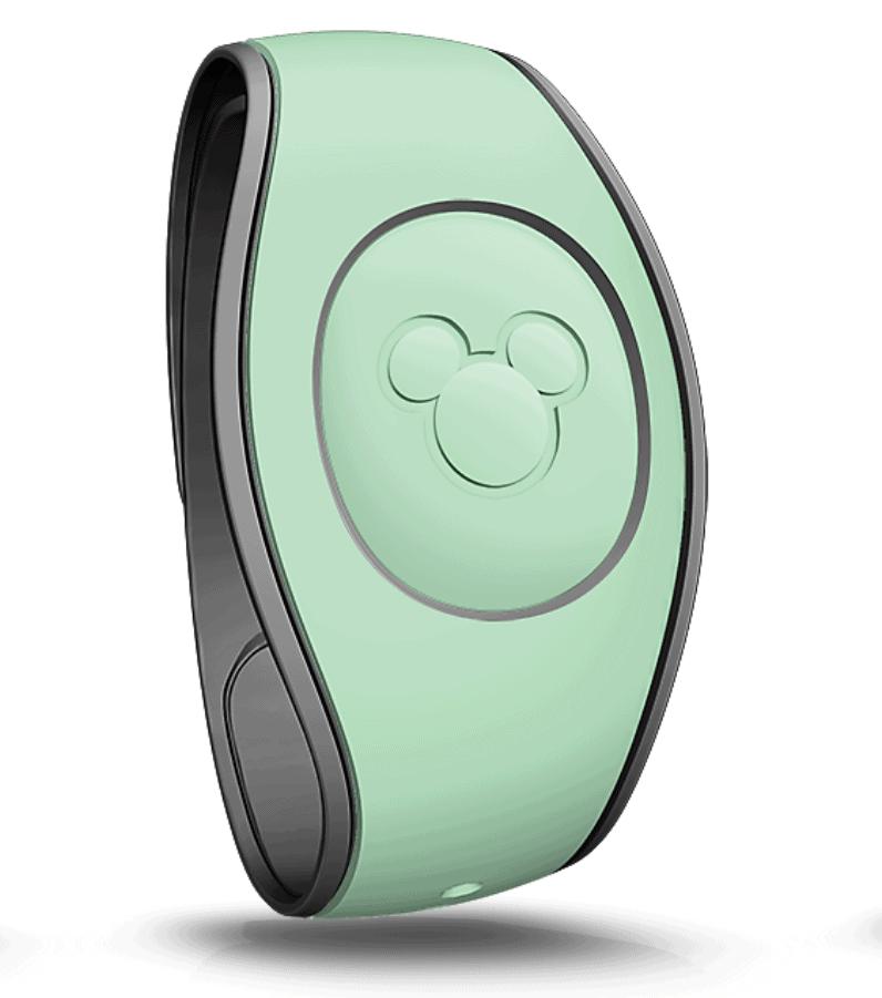 Mint Green Magic Band Walt Disney World