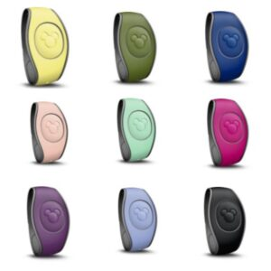 New Solid Color Magic Bands Walt Disney World