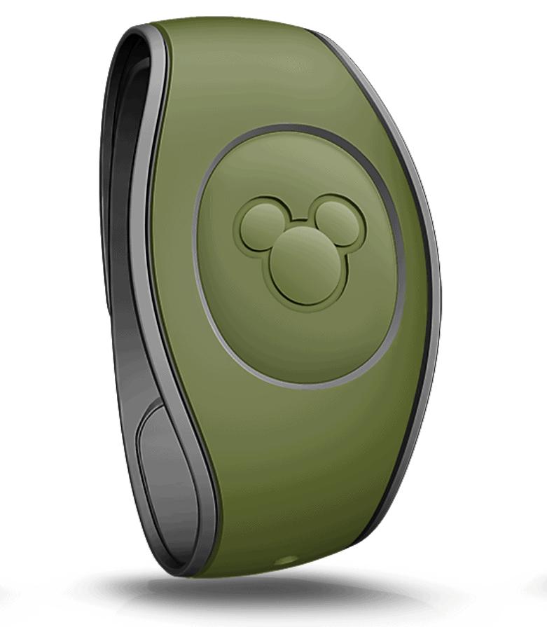 Olive Green Magic Band Walt Disney World