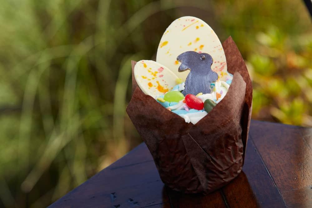 Key Lime Easter Cupcake at Walt Disney World