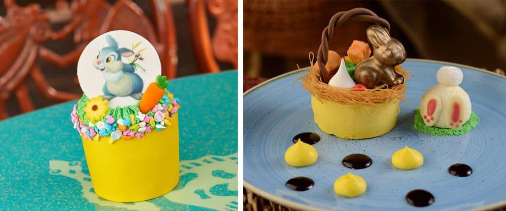 Walt Disney World Easter Thumper Cupcake