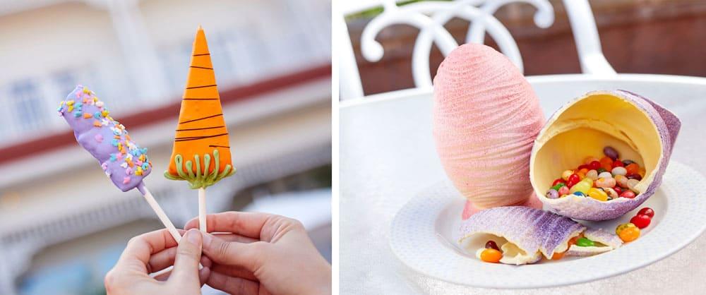 Easter Cake Pops at Disney's Grand Floridian Resort