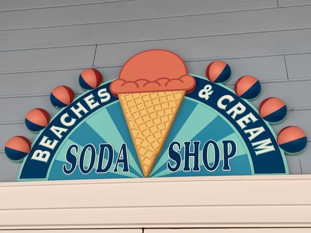 Beaches and Cream Soda Shop at Walt Disney World 1