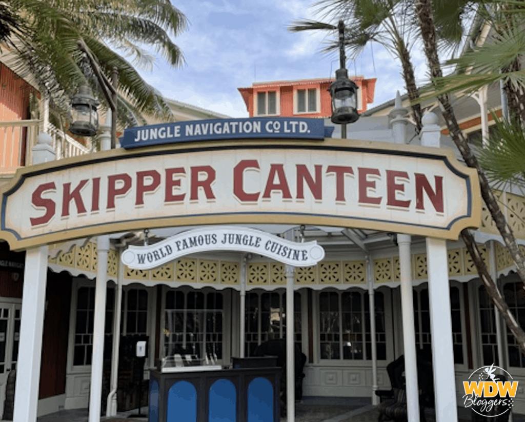Skipper Canteen at Magic Kingdom in Walt Disney World