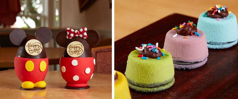 Mickey and Minnie Chocolate Easter Eggs at Disney's Beach Club Resort