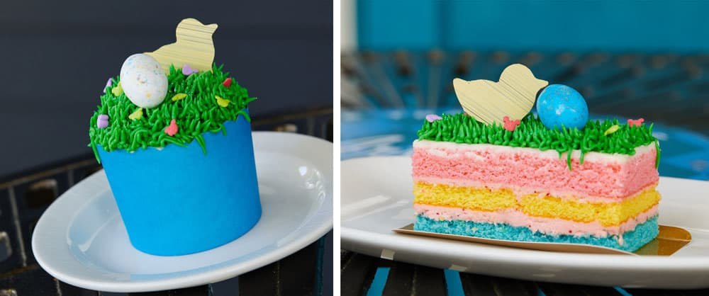 Easter Cupcakes and Cake at Walt Disney World