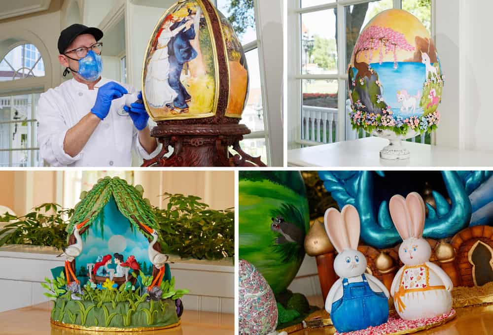 Disney Decorated Easter Eggs