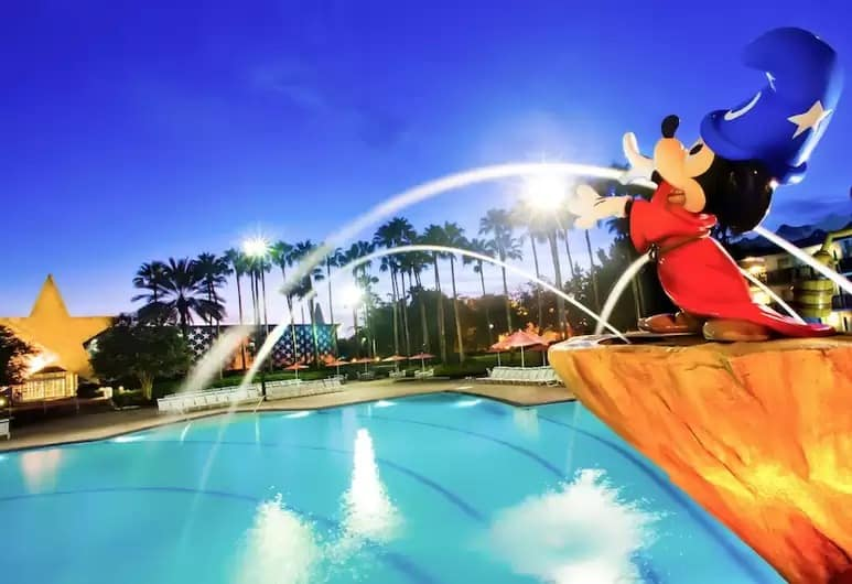All Star Movies Fantasia Pool at Walt Disney World
