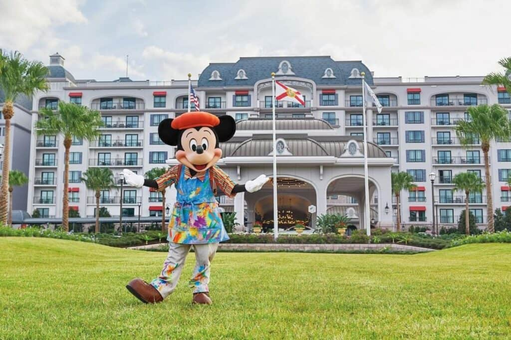 Mickey Mouse at Disney's Riviera Resort