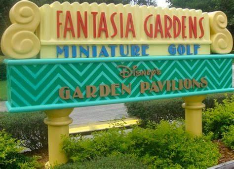 Fantasia Gardens at Walt Disney World